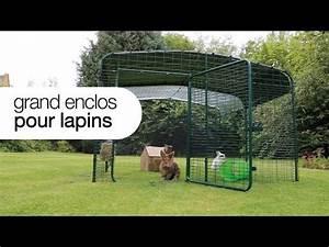 Construire Enclos Pour Chats : enclos pour lapins omlet parfait pour votre jardin youtube ~ Melissatoandfro.com Idées de Décoration