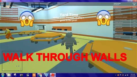 roblox hack ro walk threw walls annoying roblox
