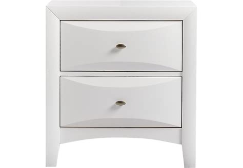Ivy League White Nightstand
