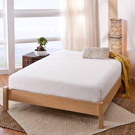 spa sensations 8 memory foam mattress spa sensations 10 quot memory foam mattress walmart