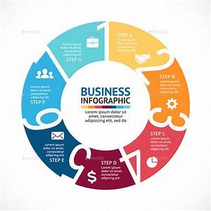 7 Steps Infographics  Psd  Eps  Ai  By Infographic