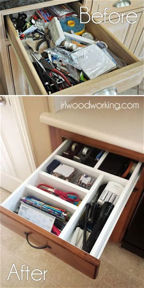 401 best images about DIY Drawer Dividers/Organizers on