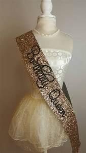 birthday sash birthday goddess gold glitter by norakatie
