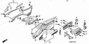 Honda Atv 2007 Oem Parts Diagram For Body    Cover