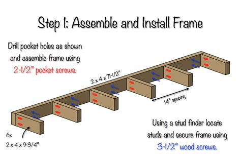 how to mount a shelf diy floating shelf free plans rogue engineer