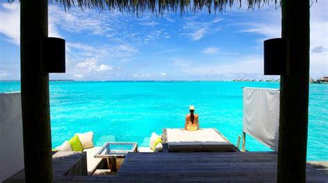 chambre sur pilotis maldives maison pilotis maldives villa chambres six senses