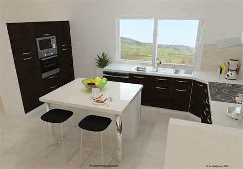 projet cuisine 3d projet cuisine 3d table de cuisine