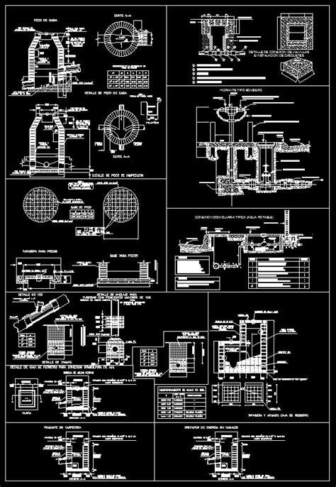 Plumbing Details – Free Autocad Blocks & Drawings Download