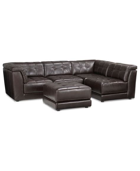5 piece modular sectional sofa stacey leather sectional sofa 5 piece modular pit 2