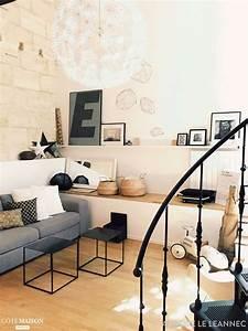 Style Industriel Salon : salon style scandinave industriel aurore le l annec c t maison ~ Teatrodelosmanantiales.com Idées de Décoration