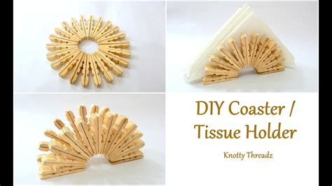 Diy Coaster Or Tissue Holder Using