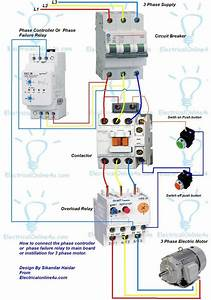 Wiring Diagram Electrical Contactor