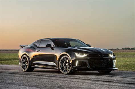 "Hennessey's New ""Exorcist"" Chevrolet Camaro ZL1 Set to"