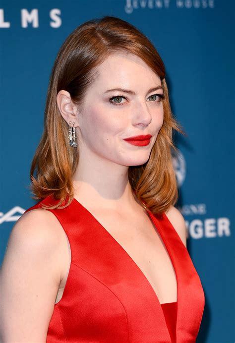 Fbi   by susie mciver   sep 1, 2020. Emma Stone Red Lipstick - Beauty Lookbook - StyleBistro