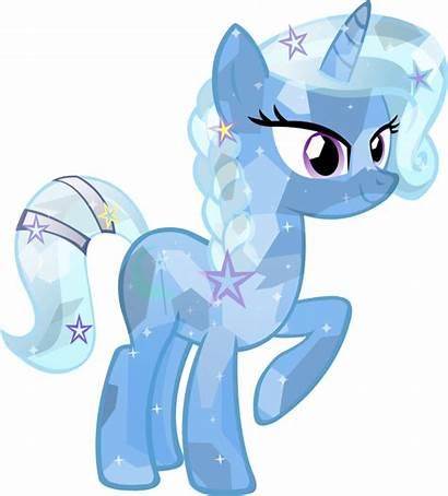 Pony Trixie Crystal Ponies Mlp Friendship Magic