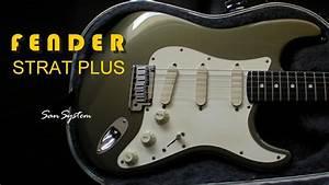Fender Strat Plus Series  Stratocaster  1988   Pewter