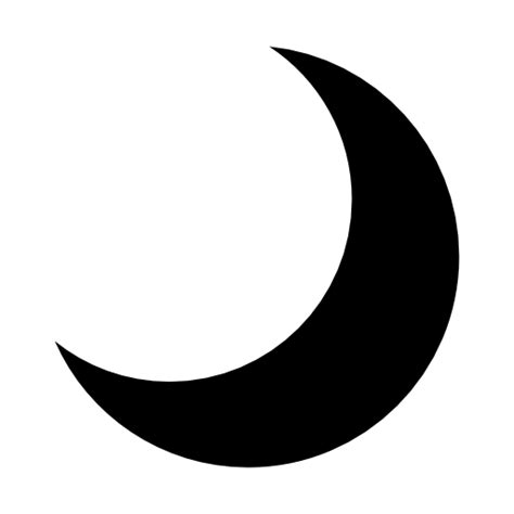 crescent moon icon in messages what does it macreports collection of crescent icons free