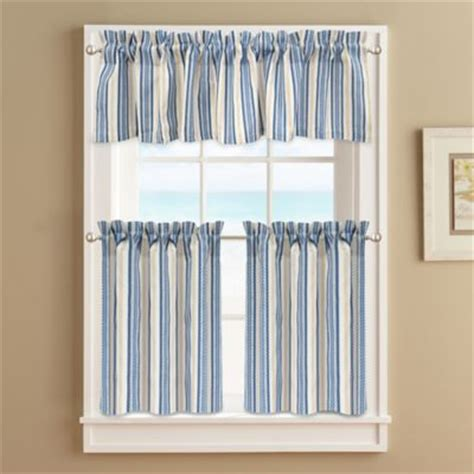 20 Inch Valances by Buy 24 Inch Curtain Tiers From Bed Bath Beyond
