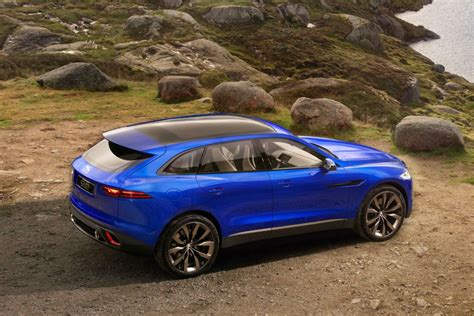 2016 Jaguar's Fpace Suv Gets The Ftype Chassis Valve