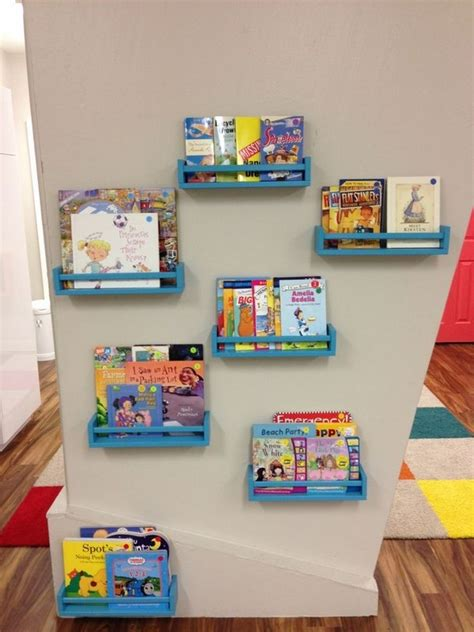 facing bookshelf ideas cool kids room furniture