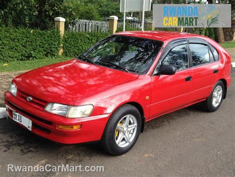 Used Toyota Hatchback 1995 1995 Toyota Corolla Rwanda