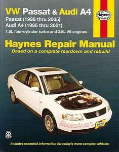 Shop Manual Service Repair Book Audi A4 Volkswagen Passat