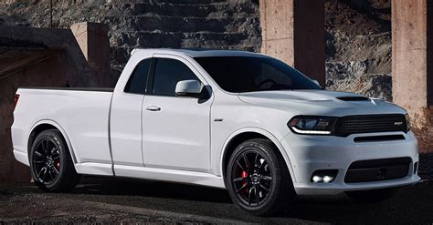 Dodge Durango Srt Pickup Render Makes Us Thirsty For A New