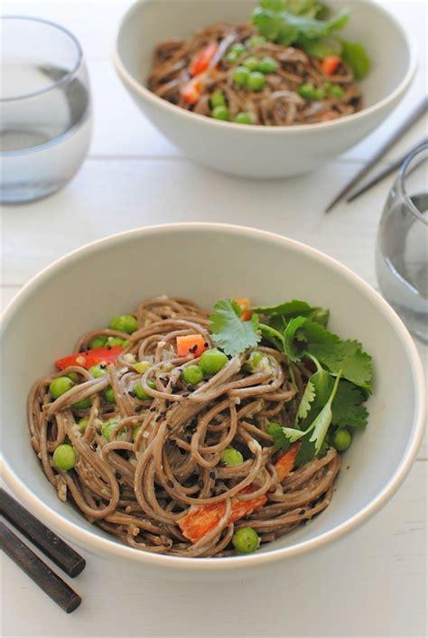soba noodles  sriracha meatballs foodiecrushcom