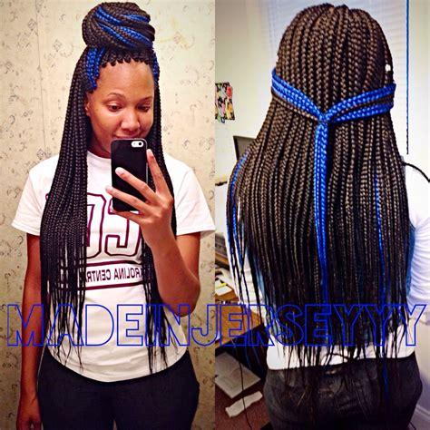 box braids with color box braids with color of course i d choose purple instead