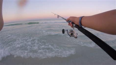 fishing florida destin surf action