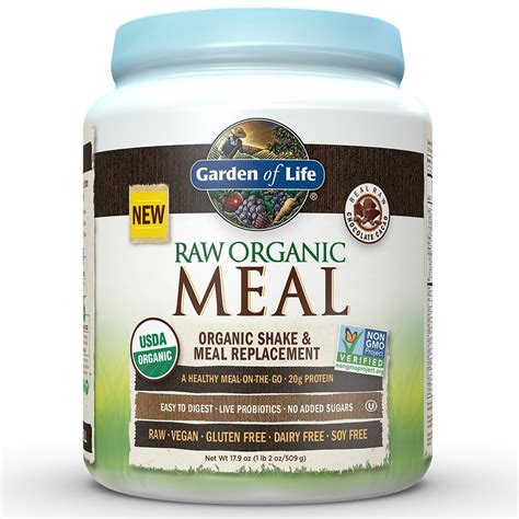 Amazon.com: Garden of Life Meal Replacement - Organic Raw