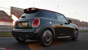 Mini Cooper Puddle Lights Team Bhp Mini John Cooper Works Hatch Launched At Rs 43
