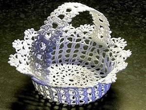 Corbeille Au Crochet : corbeilles corbeille grille et gratuit ~ Preciouscoupons.com Idées de Décoration