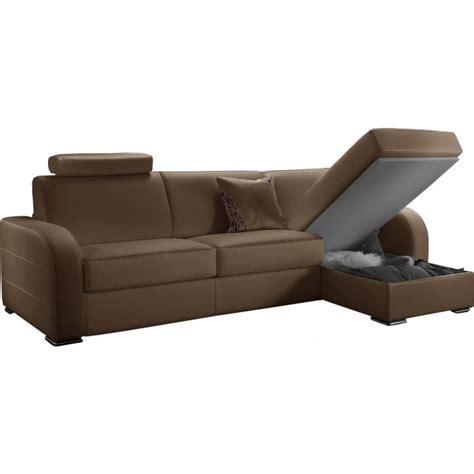 canapé bas prix canapé d 39 angle convertible réversible en cuir qualité