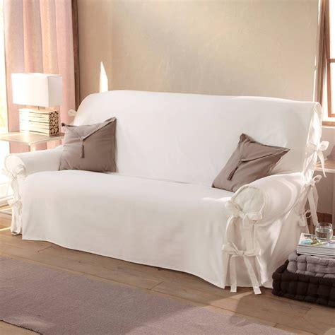 housse de canapé blanche housse de canape blanche canapé idées de décoration de