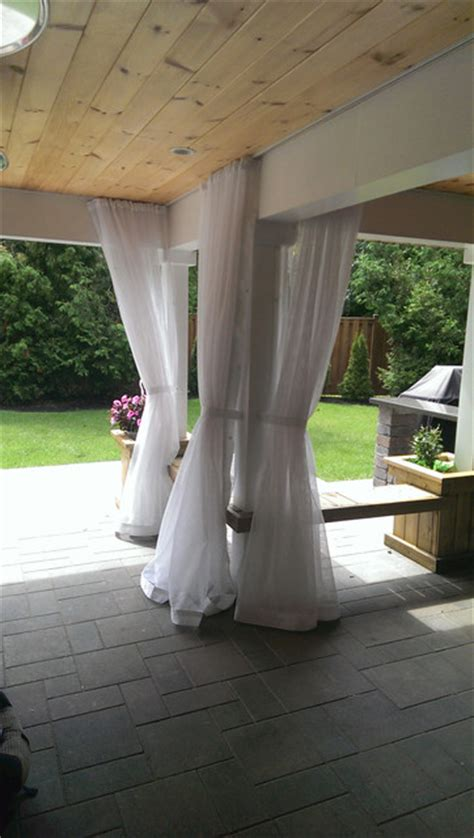 outdoor curtainsmosquito drapesporch screens