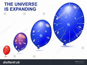 Balloons Demonstrates Geometry Expanding Universe Diagram