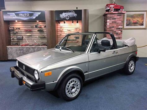 Volkswagen Cars For Sale by 1985 Volkswagen Cabriolet For Sale Classiccars Cc