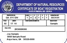 Boat Registration De licenses permits passes and boat registration wildlife