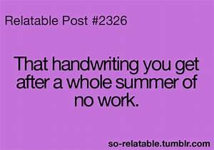 true true story school handwriting so true teen quotes ...