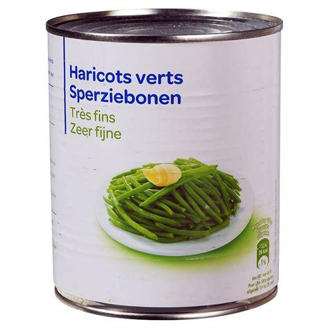 cuisiner des haricots verts en boite comment faire cuire des haricots verts en boite