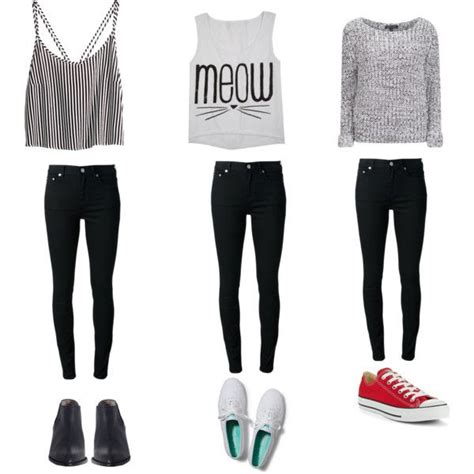 U0026quot;basicu0026quot; by iloveclothesxo on Polyvore | teen outfit  casual outfit  cute outfit  teen outfits ...