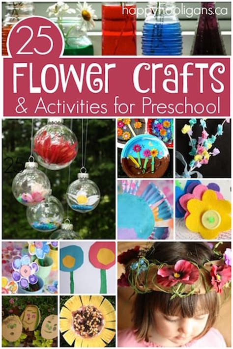 flower crafts  activities  toddlers  teens