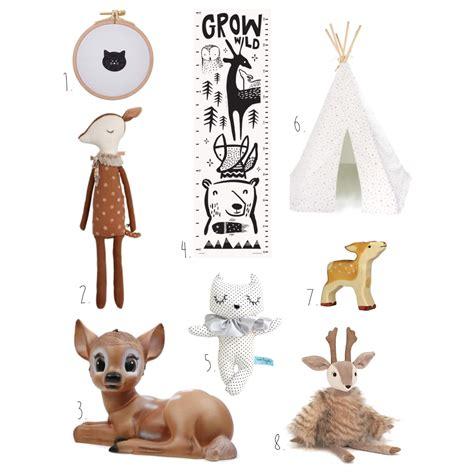 selection decoration chambre bebe chat  bambi