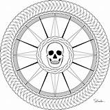 Compass Rose Pirate Coloring Pages Drawing Printable Mandalas Donteatthepaste Colouring Adult Books Embroider Pyrography Enjoy Larger Version sketch template