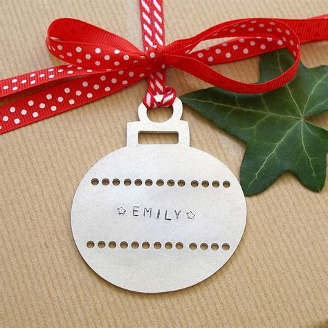 personalised christmas decoration letter of recommendation