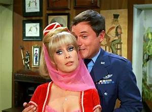 Jeannie-and-Major-Nelson | I Dream of Jeannie | Pinterest
