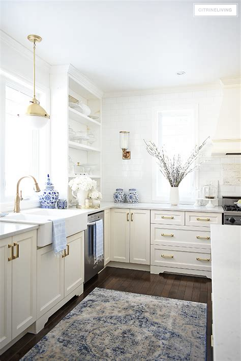 spring kitchen decorating ideas citrineliving