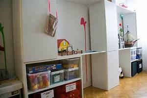 Lit Bébé Petit Espace : espace de jeu pour chambre d 39 enfant diy ~ Melissatoandfro.com Idées de Décoration