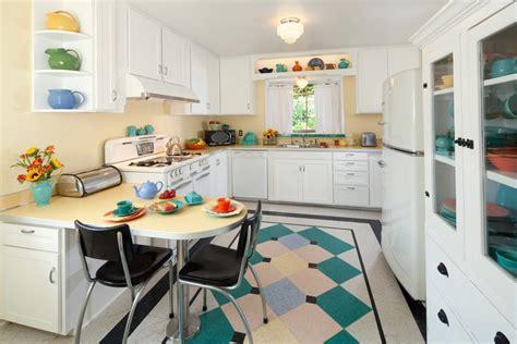 retro kitchen floor margie grace s 1940s style kitchen 1935